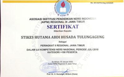 Peringkat II Regional Jawa Timur Dalam Uji Kompetensi Ners